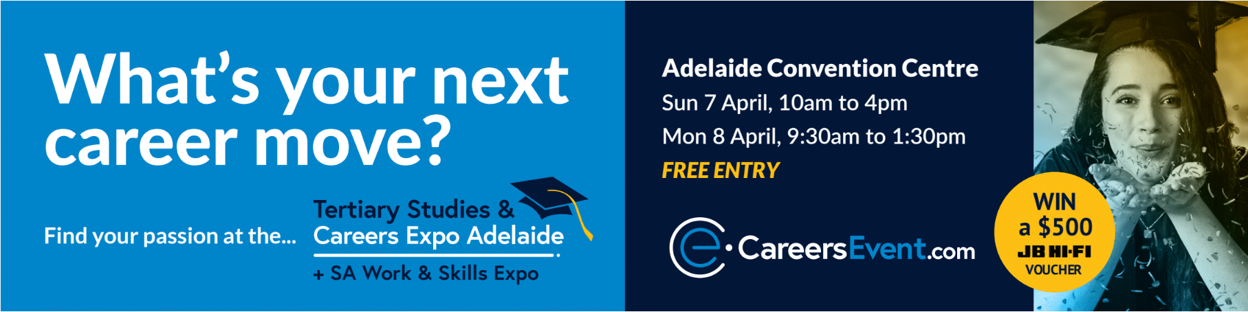 Tertiary Studies and Careers Expo, Adelaide (TSCEA)
