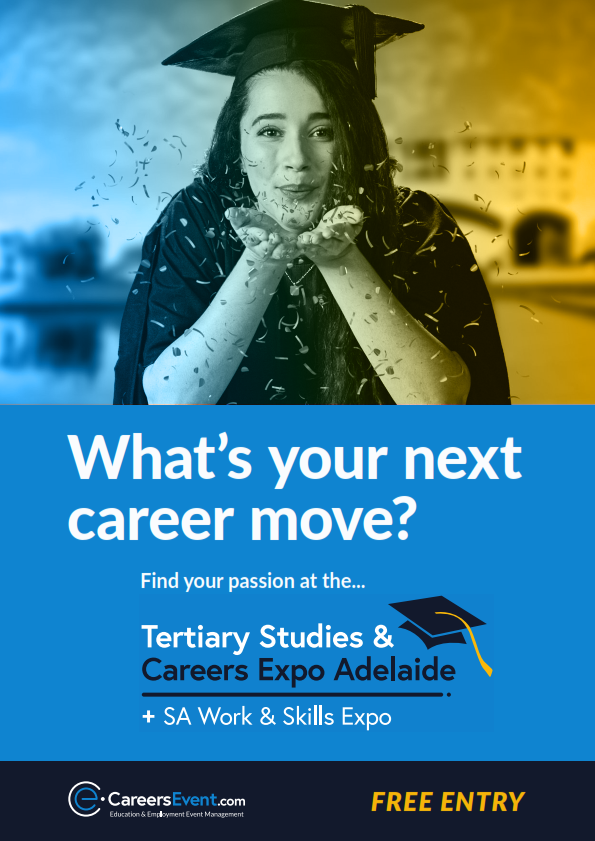 Event Guide - Tertiary Studies and Careers Expo, Adelaide (TSCEA)